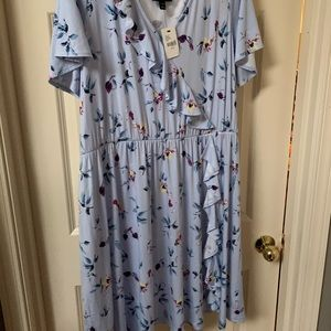 Lane Bryant Floral Dress. 14/16